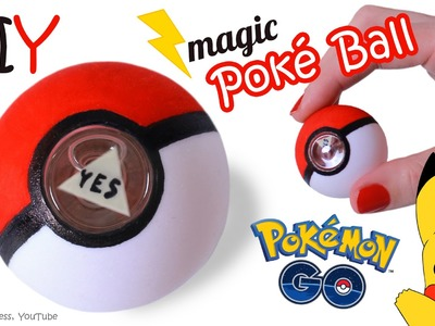DIY Magic Poke Ball – How To Make Miniature Magic 8-Ball In Pokemon Go Style