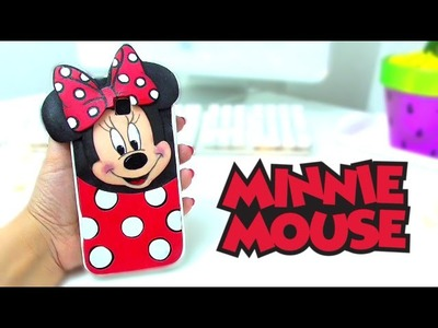 DIY MINNIE MOUSE PHONE CASE - HOW TO MAKE A FOAM CASE - Isa ❤️