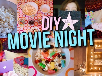 DIY Movie Night Party: Treats, Decor + more!