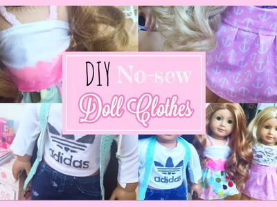 DIY No-Sew American Girl Doll Clothes!