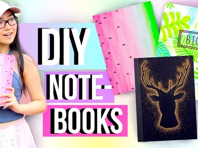 DIY Notebooks for Back to School! | JENerationDIY