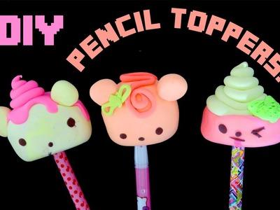 DIY Num Nom Pencil Toppers