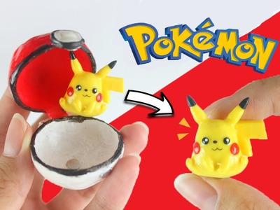 DIY Openable Pokémon Go REAL LIFE PokéBall [w. magnetic pokémon inside!?]