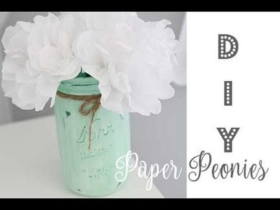 DIY Paper Peony Flower | Decorations That Impress