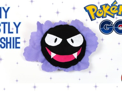 DIY Pokemon Gastly Plush: How to make your own cute Pokemon Go inspired plush toy