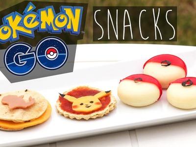 DIY Pokemon GO Inspired Party Snacks | Cute & Healthy-ish | Eva Chung