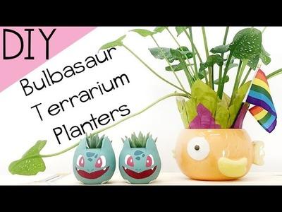 DIY: #PokemonGo Bulbasaur Terrarium.Planter