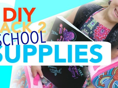 DIY School Supplies! | Tay from Millennial Moms