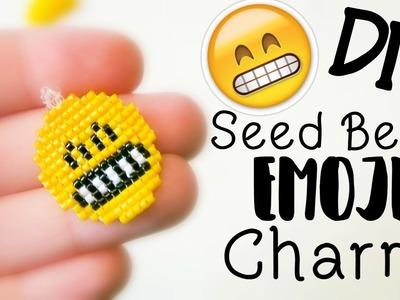DIY Seed Bead Emoji Charm How To. Bead Weaving. ¦ The Corner of Craft