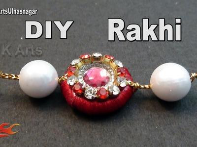 DIY Silk Thread Rakhi for Raksha Bandhan   How to make   JK Arts 1004