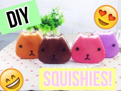DIY Squishies!. Make your own squishies with makeup sponges!