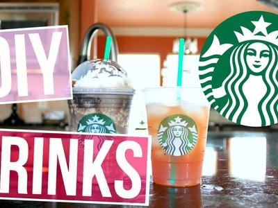 DIY Starbucks Drinks For Summer!