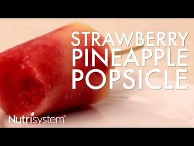DIY Strawberry Pineapple Popsicle