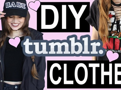 DIY Tumblr Clothes: BACK TO SCHOOL 2016♡