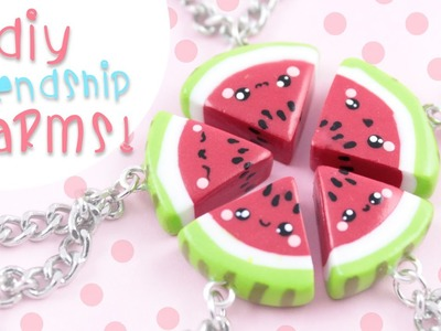 ♡ DIY Watermelon Friendship Charms ♡ | Kawaii Friday