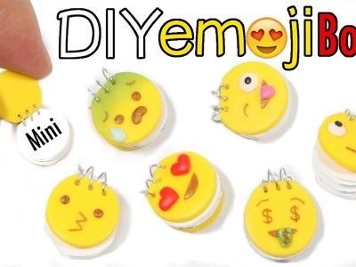 DIY WORKING Mini Emoji Notebook Clay Tutorial