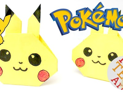 Easy Pikachu Origami - Pokemon Go DIY - Paper Crafts