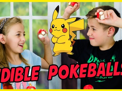 EDIBLE POKEBALLS POKEMON GO DIY!