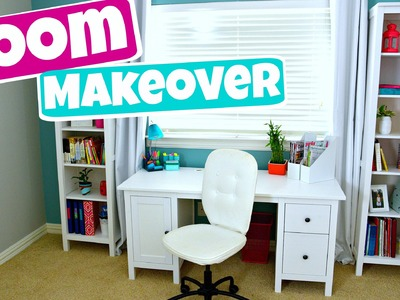 EXTREME Teen Room Makeover! + Organization and DIY's (Part 2)