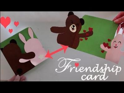 Friendship card - Easy DIY