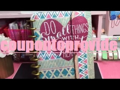 Happy Planner DIY | Cover | Button Closure DIY | Dollar Tree Binder