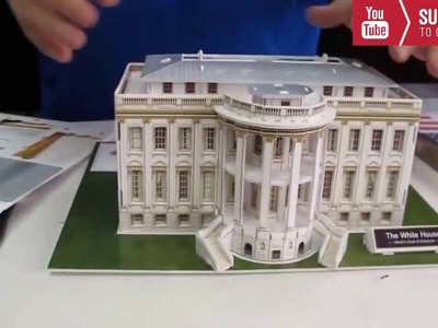 How To Make a White House Model - DIY White House Model homes