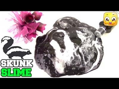 How To Make Slime With Perfume DIY Without Borax, Liquid Starch, Detergent, Tide | Skunk Slime