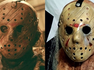 Making a Freddy vs Jason Hockey Mask - Friday The 13th DIY