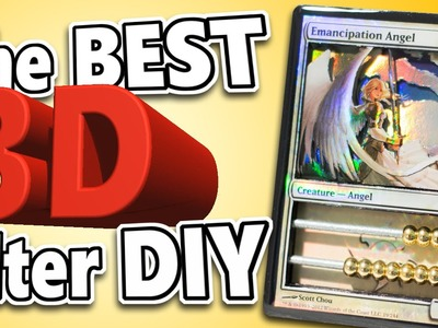 MTG - The BEST DIY 3D Alter Method! Magic: the Gathering Art Tutorial!