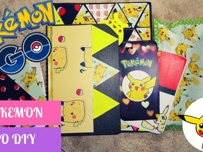 POKEMON GO DIY Back to school 2016 + 5 phone cases.cheap and affordable