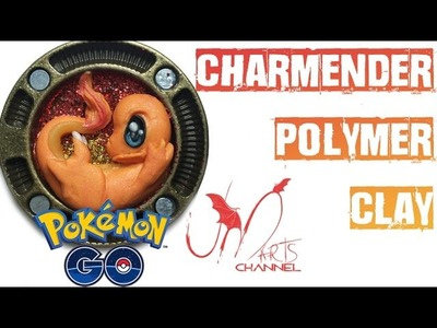 Pokemon go - How to make Charmender with FIMO Clay - Tutorial DIY