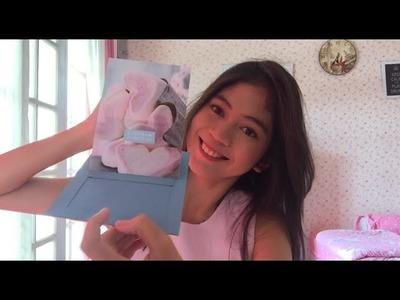 Pop Up Slider Card Tutorial Scrapbook DIY by Fiani Adila