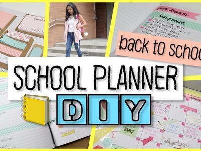 School Notebook Planner DIY | Back to School 2016