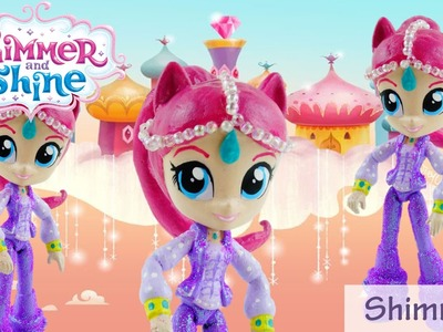 Shimmer Doll Custom - How to make Shimmer and Shine Toys from MLP Equestria Girls