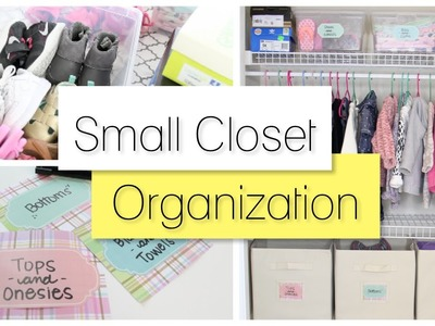 Small Closet Organization and Storage - Tips and DIY