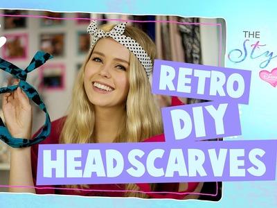 The Style Edit | Easy DIY Headscarf Tutorial | Disney Channel