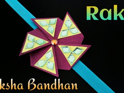 "Tutorial to make ""Flower Envelope Rakhi Bracelet for Raksha Bandhan"" 