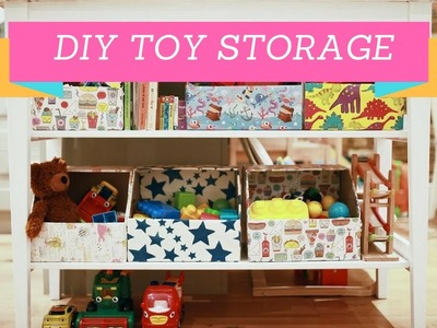 32 Amazing DIY Toy Storage Ideas For Crafty Moms