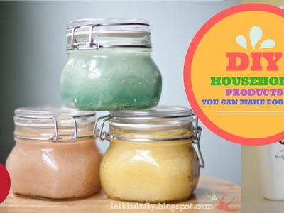 40 DIY Household Products You Can Make Yourself And Never Have To Buy Again