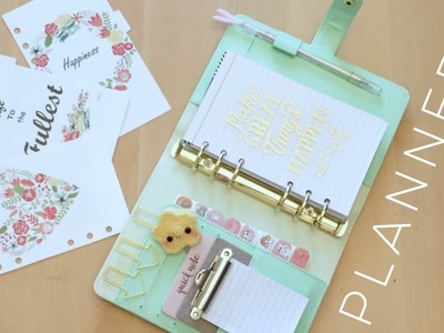 Back to School DIY Planner Decor and Dividers