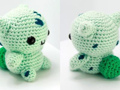 Bulbasaur Amigurumi Crochet Tutorial Part 1