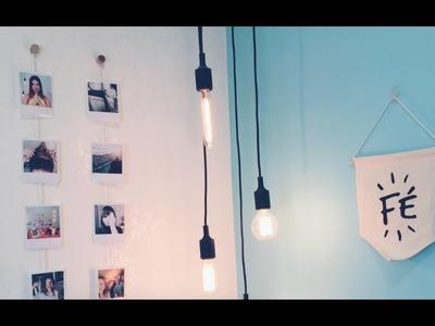 Como Fazer um Varal de Fotos | DIY Decor por Juliana Goes