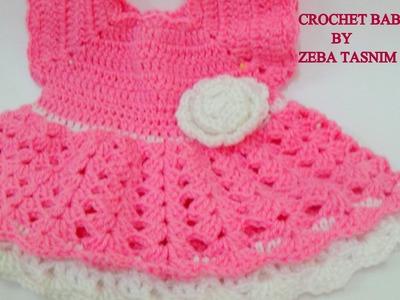CROCHET BABY DRESS(NEWBORN)-2