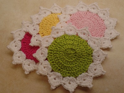 CROCHET How To #Crochet The Queens Crown Coaster Set Easy  #TUTORIAL #327