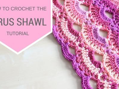 CROCHET: How to crochet the Virus shawl | Bella Coco