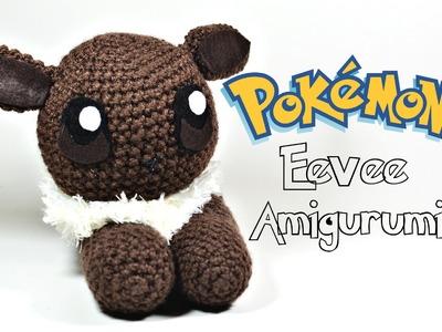 "Crochet Pokémon ""Flat"" Eevee Amigurumi Tutorial"