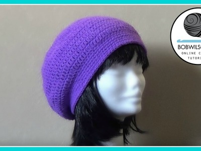 Crochet Tam Hat tutorial