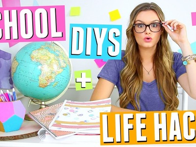 DIY Back to School Supplies & Life Hacks!!