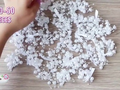 DIY bead bouquet ● 5-Minute Crafts