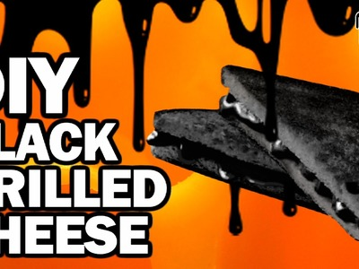 DIY BLACK GRILLED CHEESE - Man Vs Din #3
